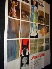 JEUX PERVERS The Magus Michael Caine affiche cinema 1968
