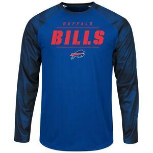 "Buffalo Bills Majestic NFL ""League Rival"" Men's Cool Base L/S Shirt"