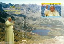 The VII visit of the pope John Paul II in Poland -  2002 -postcard