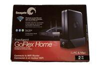 Seagate FreeAgent GoFlex Home 2TB External 5400RPM STAM2000100 NAS Brand New