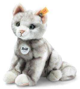 Steiff Filou the cat - collectable plush cat / kitten - 21cm - 122316