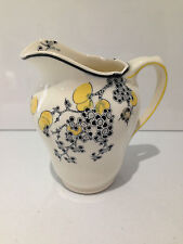 LOVELY RARE ART DECO ROYAL DOULTON D5565 CARNIVAL PATTERN FLORAL MILK CREAM JUG