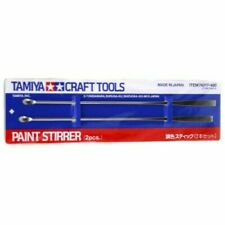 TAMIYA 74017 Craft Tools Modellers Paint Stripper 2pcs Accessories New & Sealed