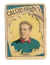 CALCIO FIGURINA  CALCIATORI   VAV  CAMPIONATO 1950   GENOA   PIANI