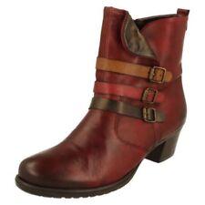 Scarpe da donna rossi cerniera , Numero 42