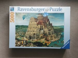 Ravensburger The Tower of Babel 5000 piece jigsaw puzzle 174232 New & Sealed