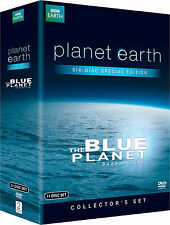 Planet Earth Special Edition Blue Planet Seas of Life BBC Boxed Set NEW +Extras!