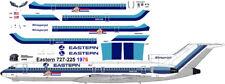 Eastern Bicentennial 1976 Boeing 727-200 decals for Minicraft 1/144 kit