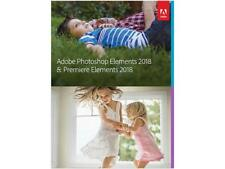 Adobe Photoshop Elements & Premiere Elements 2018 Mac & Windows