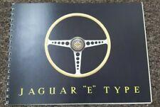 Jaguar E Type Sales Brochure Reprint - Softback - 10pgs
