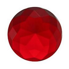 Stained Glass Jewels - 36x15mm HIGH-CROWN-RED (3790) FREE SHIPPING