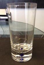 ORREFOR INTERMEZZO BLUE HIGHBALL TUMBLE GLASSES NEW NEVER USED