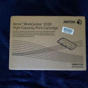 GENUINE XEROX 106R01530 HIGH YIELD CAPACITY TONER CARTRIDGE WORKCENTRE 3550