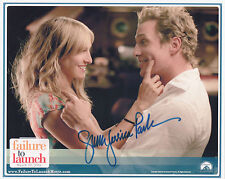 SARAH JESSICA PARKER Signed 10x8 Photo FAILURE TO LAUNCH & SEX IN THE CITY  COA