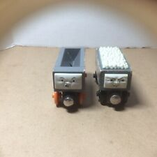 THOMAS AND FRIENDS SODOR WOODEN TRAINS S.C. RUFFY & CO (qty. 2)