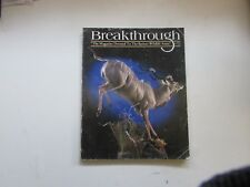 BREAKTHROUGH TAXIDERMY MAGAZINE  SUMMER 2000 ISSUE # 60