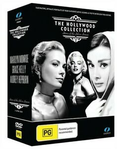 The Hollywood Collection Vol 2 Marilyn Monroe, Grace Kelly, Audrey Hepburn