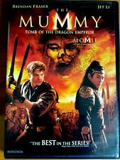 The Mummy: Tomb of the Dragon Emperor (DVD, 2008) widescreen movie Film Egypt !