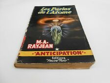 ANTICIPATION NUMERO 104 EDIT FLEUVE NOIR 1957