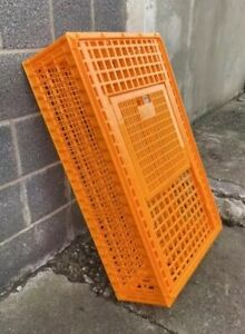 Large Poultry Crate - Brand New - Extremely Sturdy Plastic