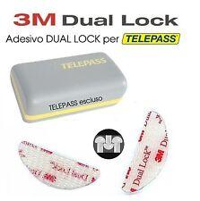2 pz Adesivi Telepass Dual Lock 3M per Telepass Navigatori cellulari TLC GO PRO