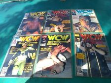 WCW comic book series complete comic set 1-12 excellent condition NWA WWF WWE