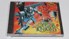 Cyber KNIGHT PC ENGINE HUCARD duo-rx GT LT JAPAN JPN * nuovo di zecca SIGILLATI *