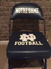 Notre Dame Football 2012 Game Used Locker Room Chair Steiner COA