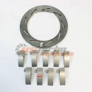 03 Ford Powerstroke Powermax GT37VA Turbo Unison Nozzle Ring Vanes 15mm Set