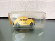 WIKING VW BEETLE 1200 GERMANY POST 1/160  PLASTIC  NEW BOXED No 12 832