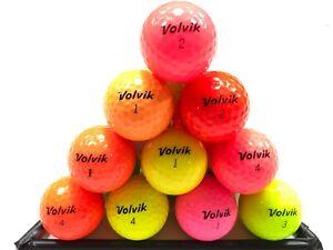 40 VOLVIK GOLF BALLS IN MINT/A GRADE CONDITION