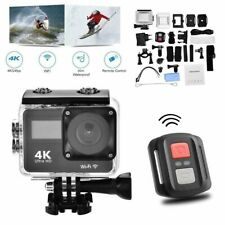 4K HD Sports Action Camera Wifi Waterproof Camcorder Helmet with Remote Go Pro