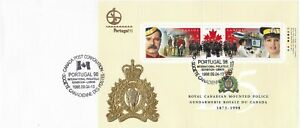 CANP083) Cover Canada 1998, 125th Anniversary of the Royal Canadian Mounted Poli