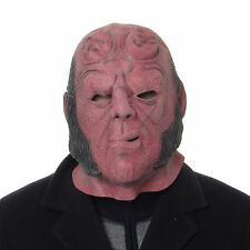 Hellboy The Movie Full Overheard Quality Latex Mask Cosplay Fancy Dress
