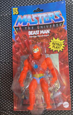 Walmart Exclusive Masters Of The Universe Origins He-man Beast Man Mattel