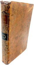 Settencentina Libro antico di diritto pubblico in Europa Mably antica legatura