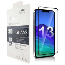 3D Full Cover Panzerfolie für iPhone 13 Pro Max Mini Schutzglas Display Glas 9H