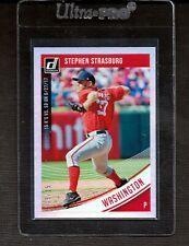 2018 Donruss  #198 Stephen Strasburg Nationals Numbered 15/15