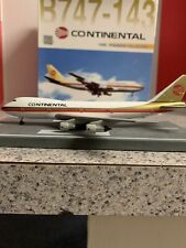 DW 1:400 scale diecast model CONTINENTAL AIRLINES Boeing 747-143 N603PE 55136