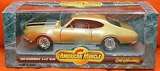 ERTL 1/18 1969 Oldsmobile Olds 442 W30 AZTEC GOLD 7848 SEALED American Muscle 69