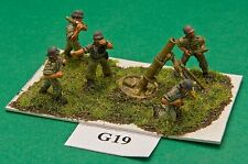 SGTS MESS G19 1/72 Diecast WWII German 120mm Mortar and 5 Crew