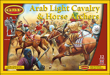 ARAB LIGHT CAV AND ARCHER  28MM HARD PLASTIC FIGURES - NEW GRIPPING BEAST RANGE