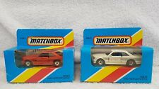 Matchbox Superfast MB43 AMG Mercedes Benz x 2 Versions Sealed Unpunched Boxes 81