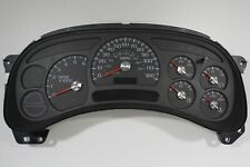 4N) 05-06 2005-2006 FACTORY COMPLETE OVERHAULED CHEVY TRUCK INSTRUMENT CLUSTER