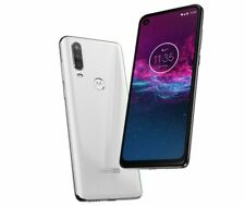 Motorola One Action Xt2013-2 Unlocked Android 128Gb 4Gb Pearl White New