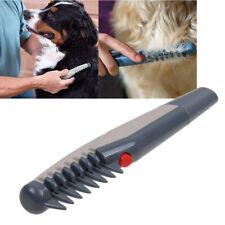 Electric Dog Cat Self Grooming Comb Groomer Brush Pet Hair Scissor Trimmer