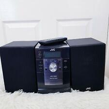 JVC UX-G100 sistema de datos de Radio Cassette Deck MP3/WMA Micro Componente Sistema