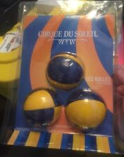 """Juggling Bean Balls of 2 1/2"""" Round 3 balls made In Canada  new old stock"""