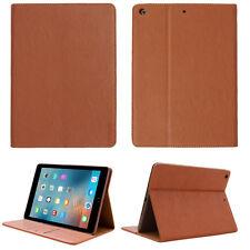 Premium Echt Leder Cover Apple iPad Air 1 Tablet Schutzhülle Case Tasche braun