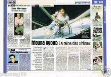Coupure de Presse Clipping 2000 Mouna Ayoub